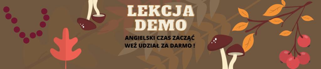 angielski online lekcja demo