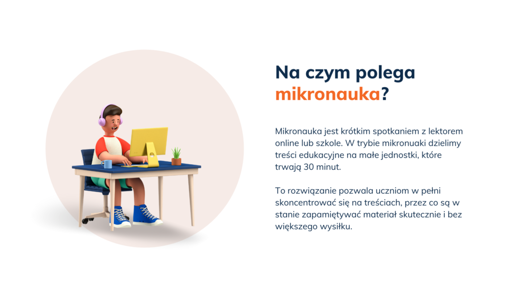 angielski mikronauka online