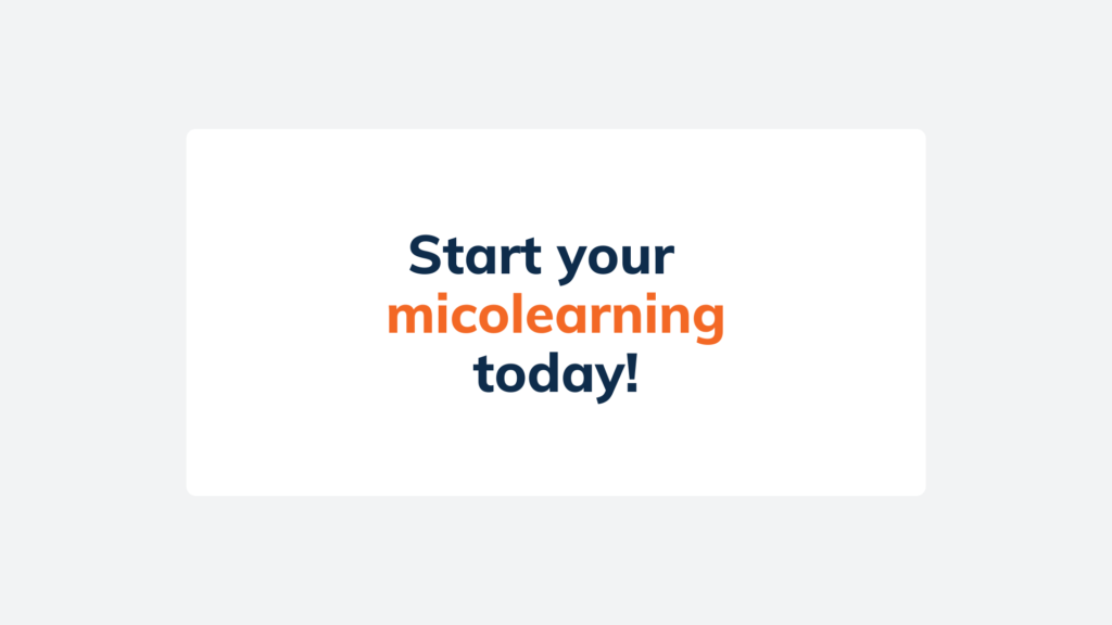 microlearning 7